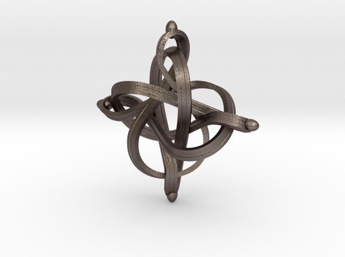 Infinity loop pendant