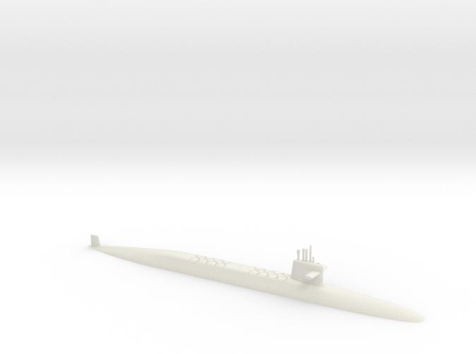 1/700 Le Triomphant Class SSBN (Waterline)