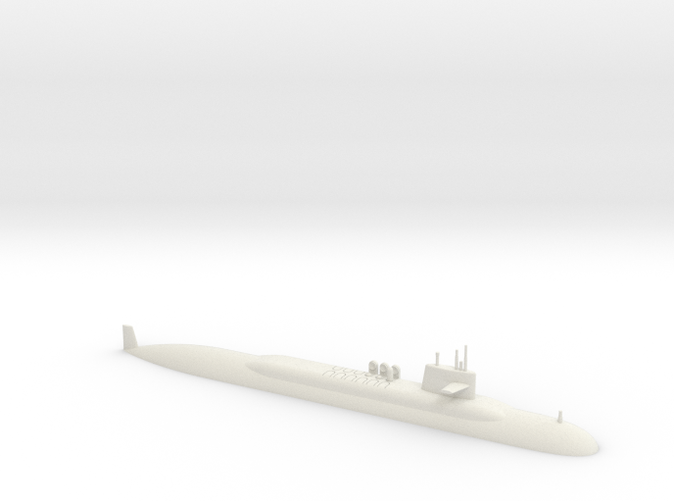 1/700 Lafayette Class Submarine (Waterline)