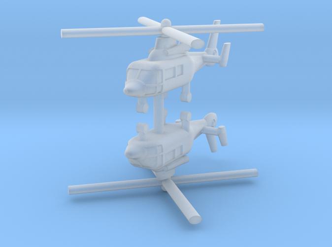 1/600 Eurocopter AS365 Dauphin (x2)