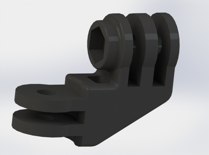 A rendering of the Elbow Mount