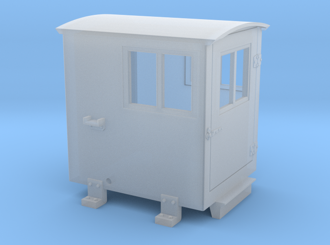 Southern Ry  Doghouse for Small Tenders - HO scale