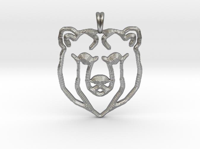 Bear totem jewelry designer pendant 7un5hm8t3 by symbolica bear totem jewelry designer pendant mozeypictures Gallery