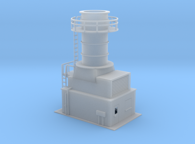 Gas Turbine unit Z scale