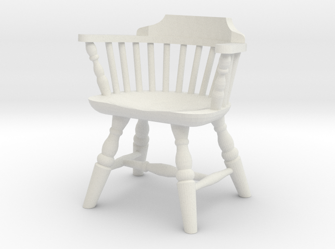 1 24 Low Back Windsor Chair