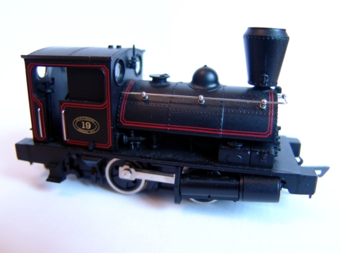 Fitted to a Dapol model