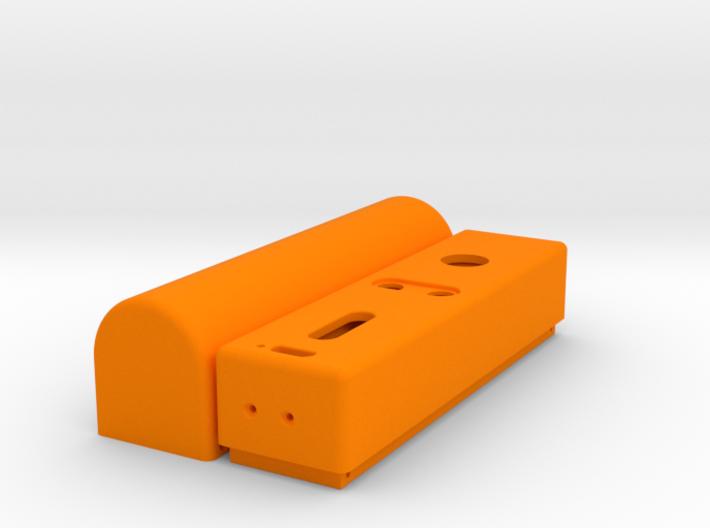 Design 1 - Single 18650 - DNA Mod - Smooth Body 3d printed
