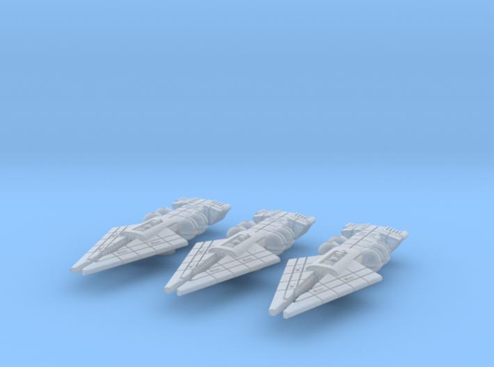 Orion (KON) Destroyer Datagroup 3d printed