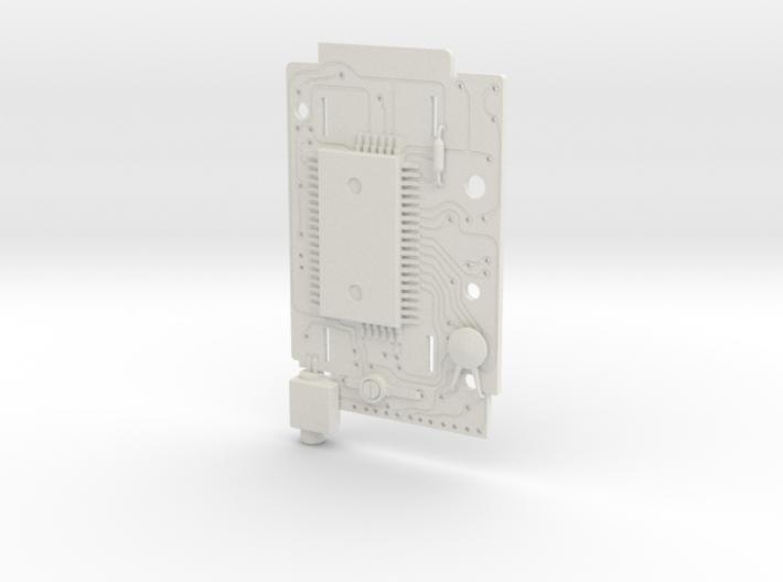 Casio MQ-1 Circuit Board 3d printed