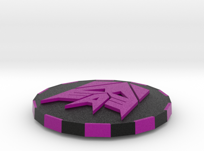 Transformers Double sided card cover 3d printed