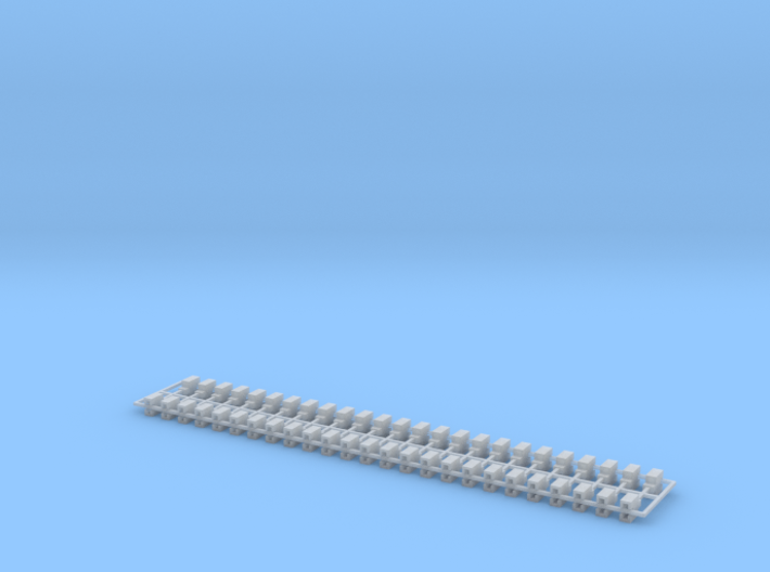 2 By2 Blocks Z Scale 3d printed