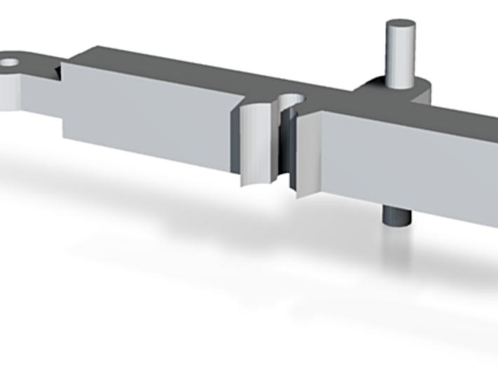 Krytac H-Arm (Stock) 3d printed