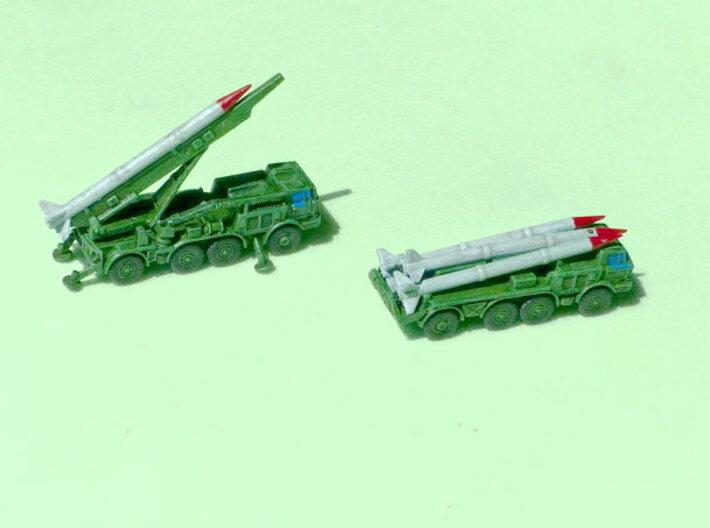 Sovjet Frog 7 - Luna M SRBM 1/285 6mm 3d printed Add a caption...