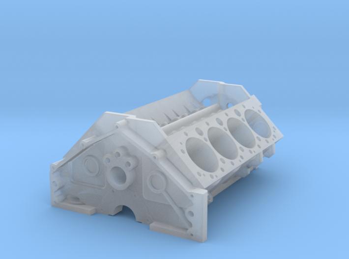 1/18 Small Block Chevy High Detail Block 3d printed