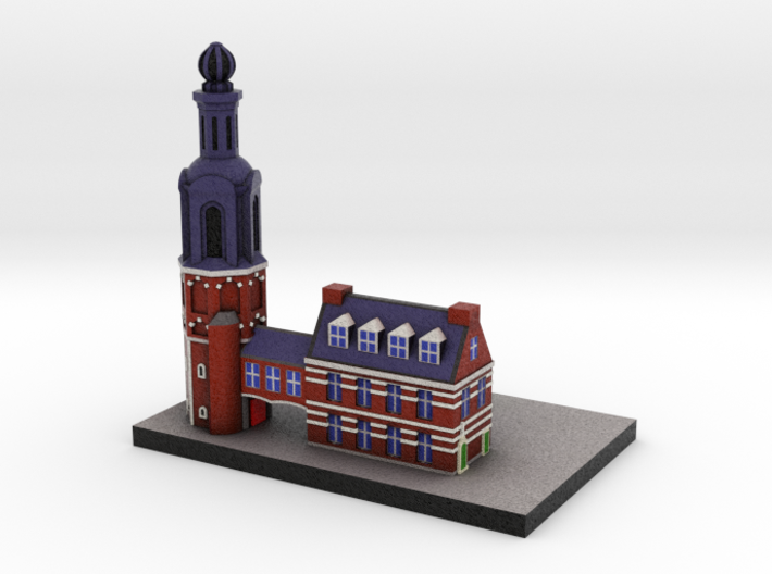 Amsterdam Munt Tower 4x2 3d printed