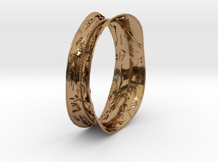 bracelet rupestre 3d printed