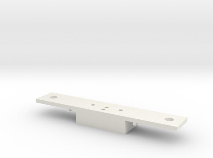 Lionel O scale EMD F3/F7 Coupler Mount (Part A) 3d printed