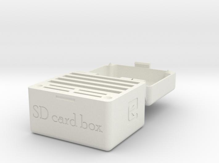 SD Card Holder Box 30mm 3d printed