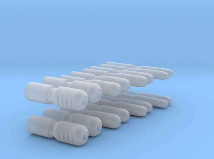 Cannons 2.0 3d printed