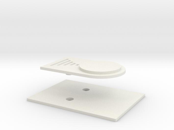 DV - ROTJ Belt Buckle 3d printed