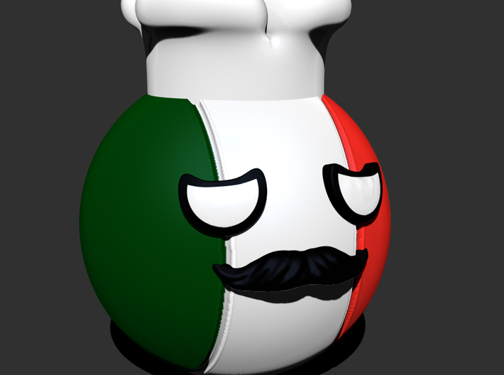 Countryballs Italy 3d printed Countryballs Italy - 3D render