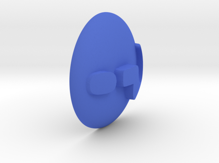 Paperweight - Question Mark 3d printed