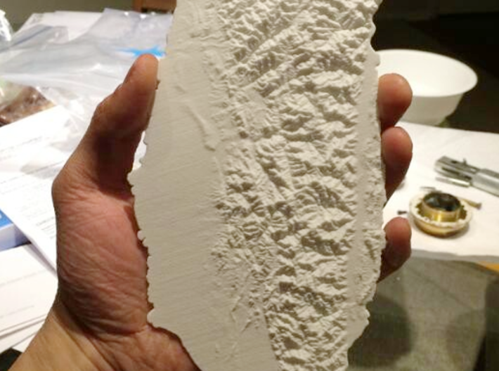 Taiwan, 28cm - Navigator Series 3d printed Photograph of 28cm model showing many details