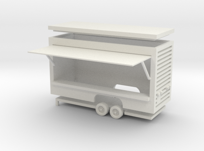 Gametrailer Ver.2 - 1:87 (H0 scale) 3d printed