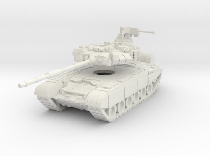 MG100-R08 T-90A MBT 3d printed