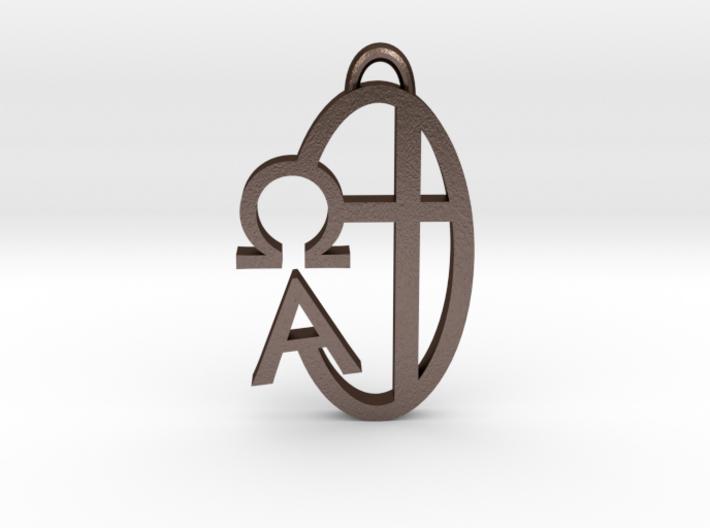 Alpha Omega 3d printed