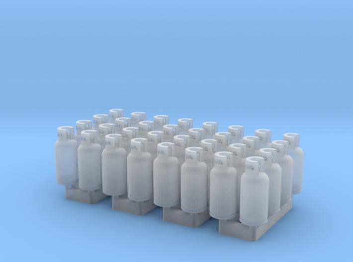LPG Tanks 10kg, 32pc., N-scale 3d printed