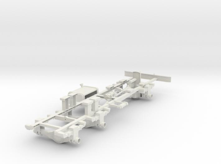 BM-21 MLRS 1 18 Frame 3d printed
