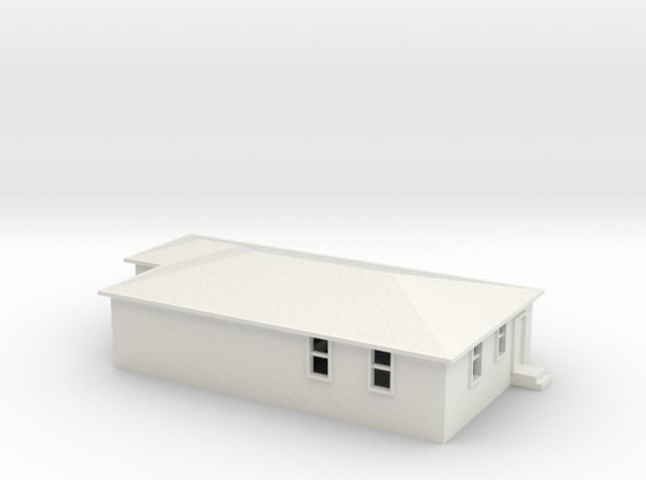 N Scale Australian House #2A 3d printed