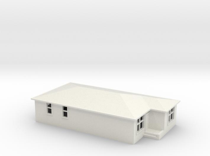 N Scale Australian House #2A-M 3d printed