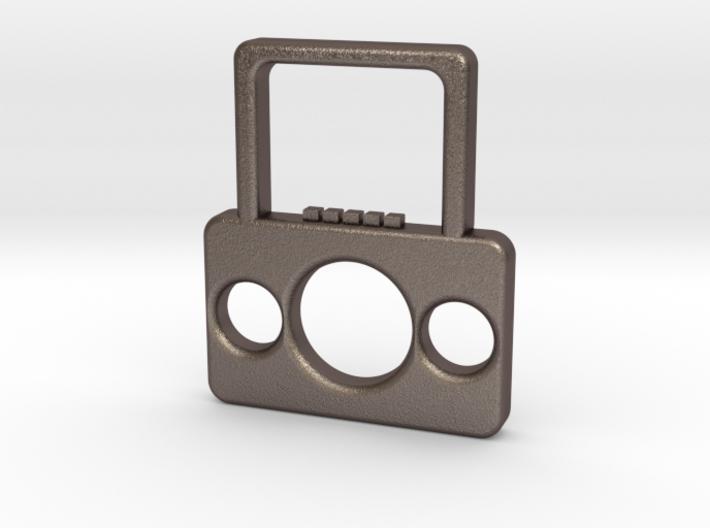 Boombox Pendant 3d printed