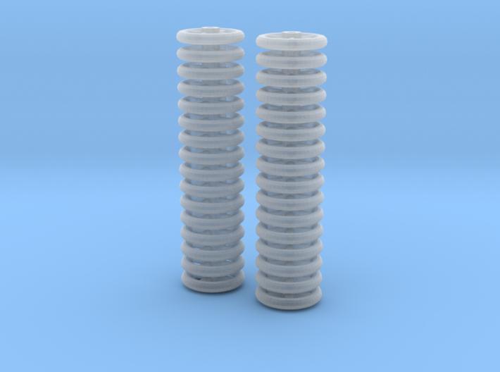 Brake Handwheels (4 and 6 spoke) 3d printed