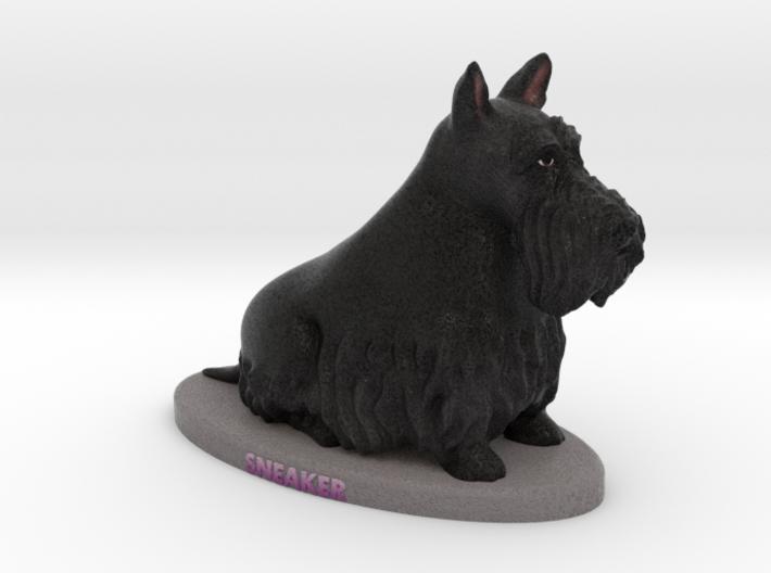 Custom Dog Figurine - Sneaker 3d printed