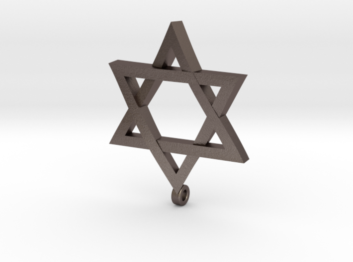 Twisted Star of David 3d printed