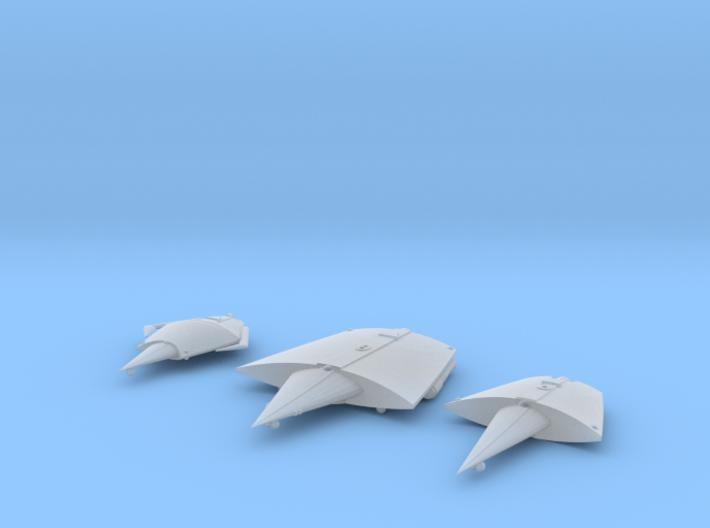 2400 Swarm 1xBC 1xCL 1xCM 3d printed