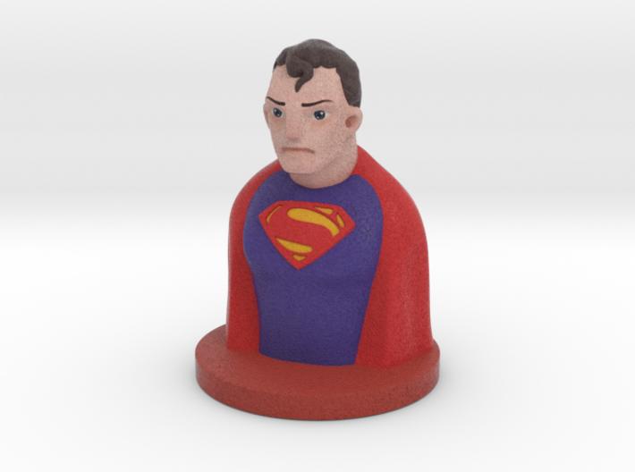 Super Bust 3d printed