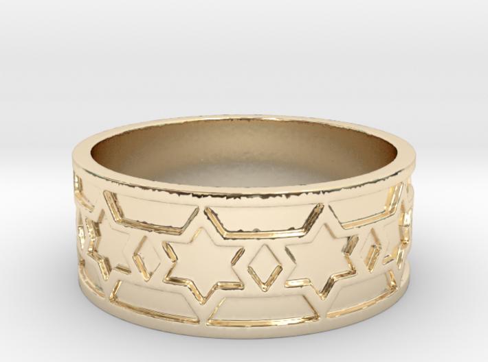 Nola Ring Size 14 3d printed