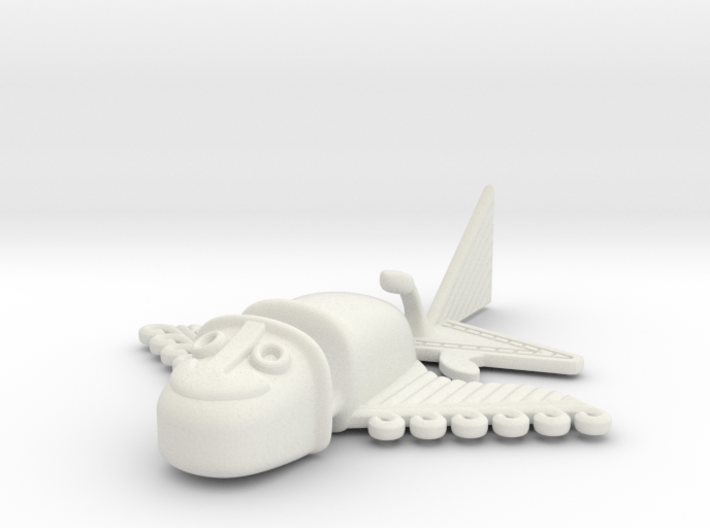 """Pre-Colombian """"airplane"""" 2 3d printed"""