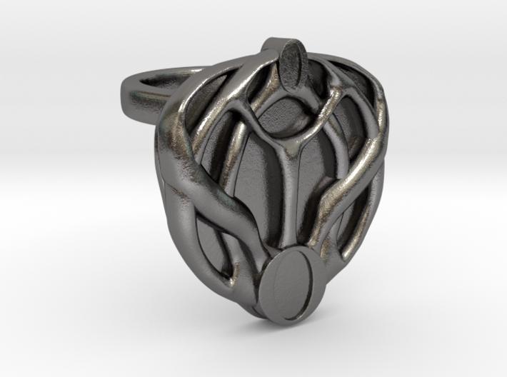 Mon Mothma's Brooch Ring - 20mm 3d printed