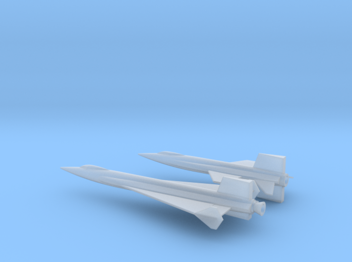 1/285 NAA X-15 + X-15 DELTA WING ROCKET PLANES 3d printed