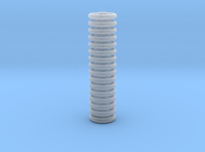 Brake Handwheels (5 curved spoke). 3d printed