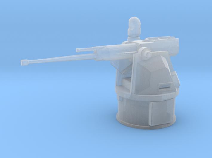 25mm MK38 MOD 2 1/144 x 1 3d printed