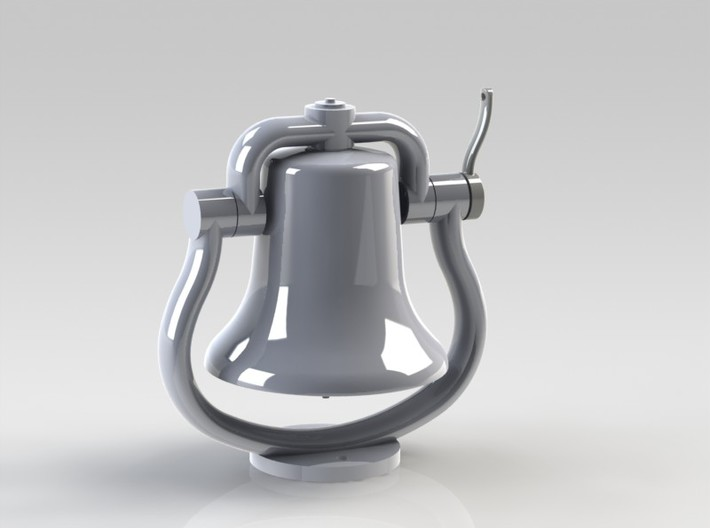 Bell with clapper 1:8 3d printed