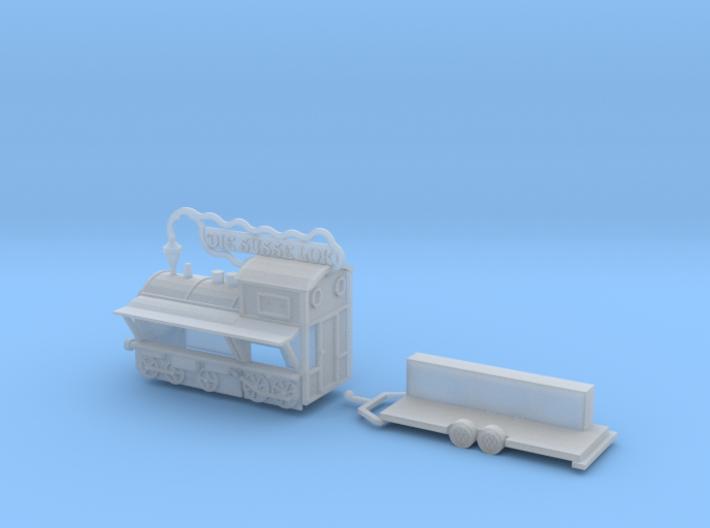 """""""Die süsse Lok"""" Detailversion - 1:220 (Z scale) 3d printed"""