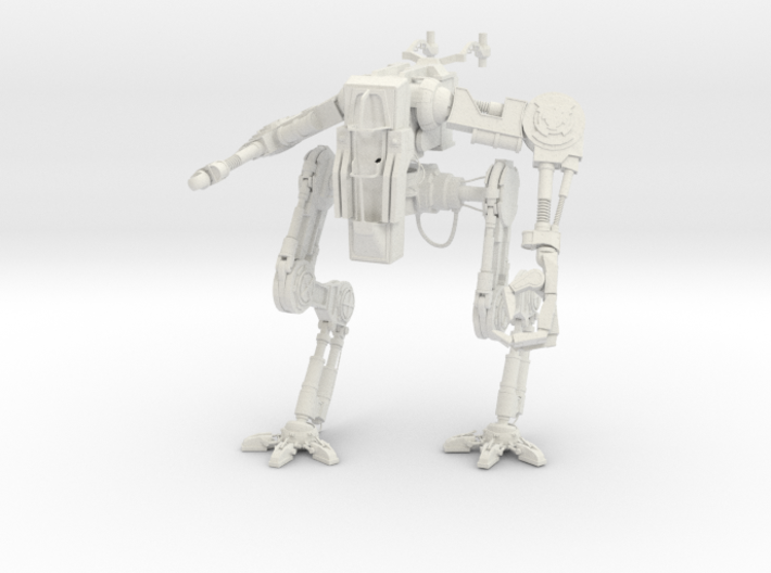 The Crux Robot 3d printed