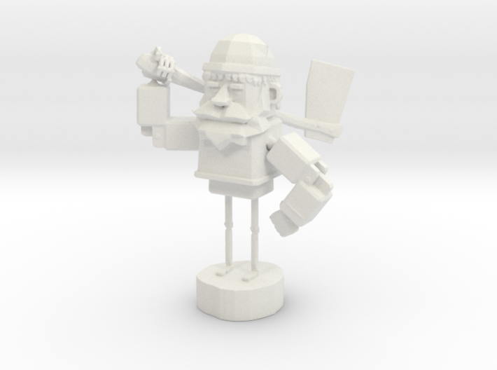 WOODEN-GUY 3d printed